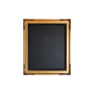 The Hopewell Large Gold Chalkboard