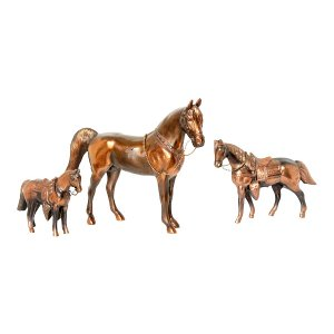 The Winston: Bronze Metal Horses
