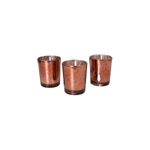 The Talia: Rose Gold Votives