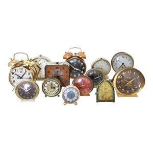 The Clyde: Set of 5 Antique Clocks
