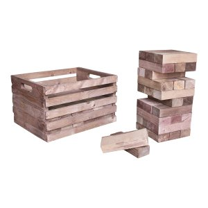 The Auburn Giant Jenga Set
