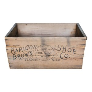 St Louis Wooden Crate