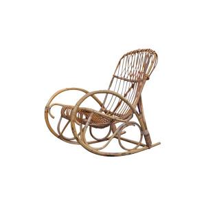 The Rockaway: Rattan Rocking Chair