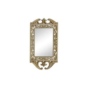 The Madison: Small Hanging Gold Mirror