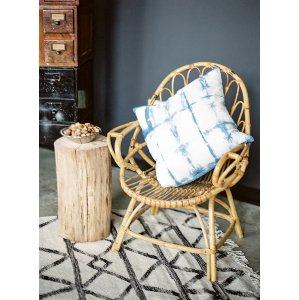 New! Boho Wicker Chair