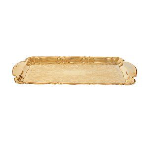 The Blaire: Large Gold Tray
