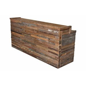 The Shaw: Reclaimed Wood Bar