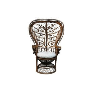 The Sage: Rattan Peacock Chair