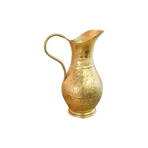 The Diana : Brass Pitcher