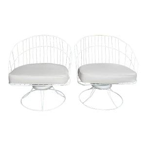 The Emersons: Midcentury Wire Chairs