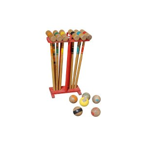 The Greensboro Vintage Croquet Set