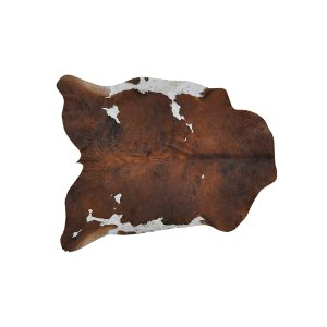 The Garrett: Cowhide Rug