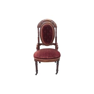 The Redmond: Burgundy Chair