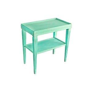 The Toto: Aqua End Table