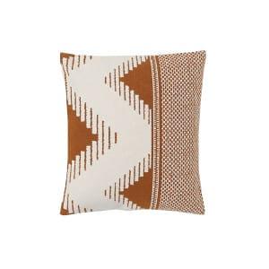 The Sante Fe: Rusty Geometric Pillows