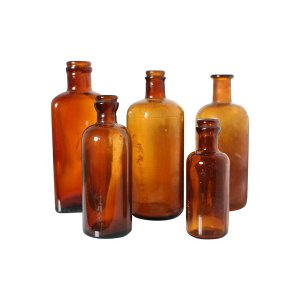 The Apothics: Amber Bottles