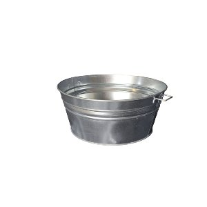 The Alexanders Galvanized Metal Tubs