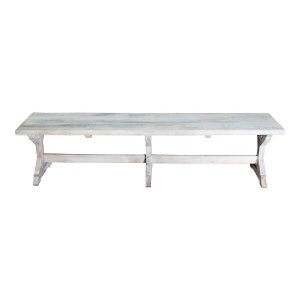 New! Provençe Whitewashed Benches
