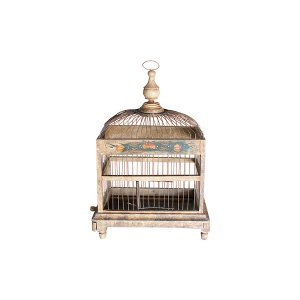The Margot: Small Vintage Birdcage