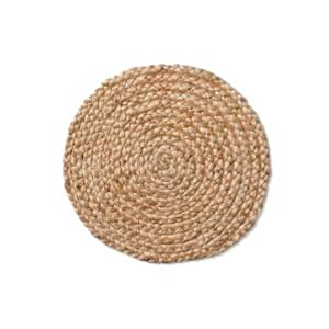 The Allegra: Jute Charger