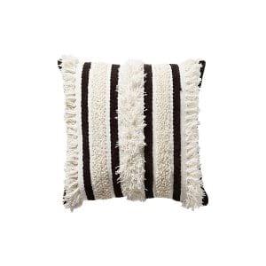 The Otis: Black and White Textured Pillows