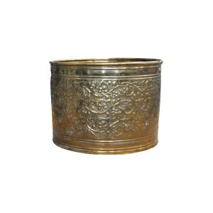 The Hedera: Medium Bronze Pot