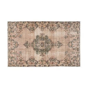 The Claudia: Taupe Turkish Rug