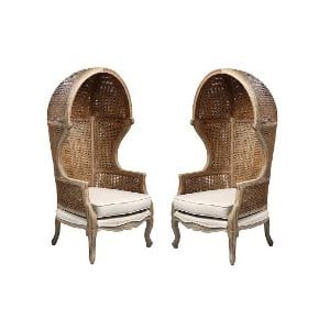 The Toulouse: French Hooded Chairs
