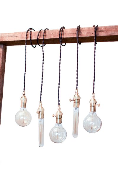 The Edison Industrial Pendants