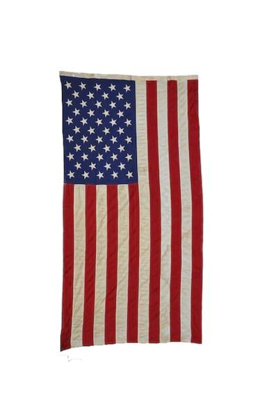 The Washington: Large Vintage Flag