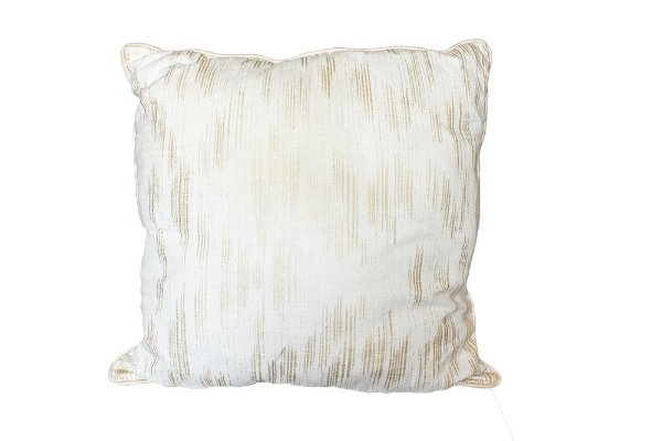 Gold Striped Pillow