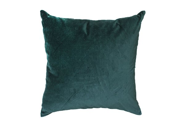 Emerald Velvet Pillows