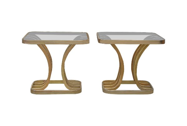The Ziggys: Brass End Tables
