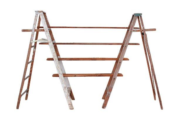 The Declan: Vintage Ladder + Shelves