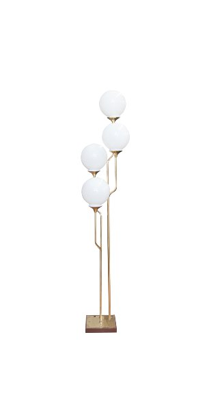 The Rizzo: Brass Midcentury Lamp