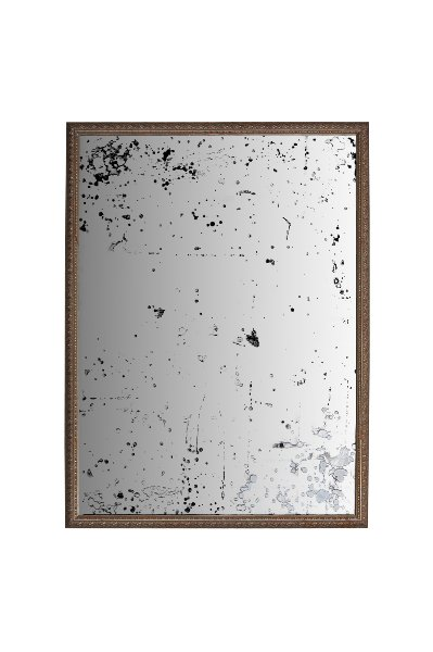 The Nashville: Large Distressed Mirror