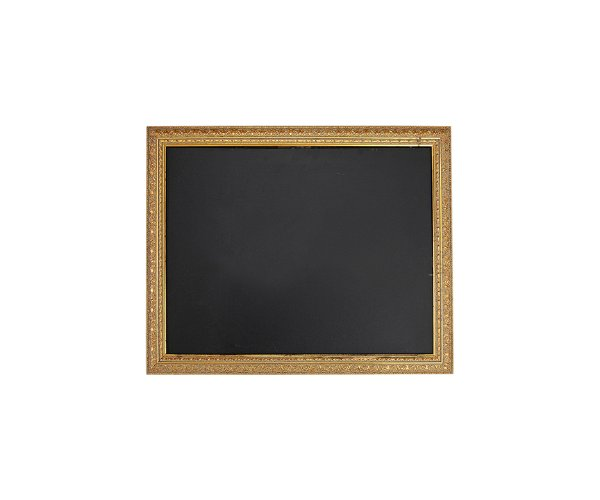 The Arlington: Small Gold Chalkboard