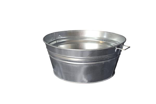 The Alexanders: Galvanized Metal Tubs