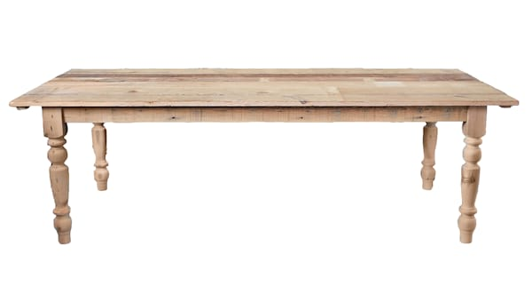 The Brentwood: Natural Farm Tables
