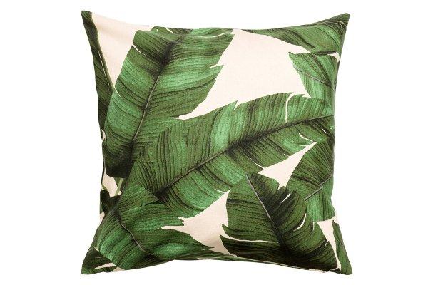 The Havana: Palm Print Pillows