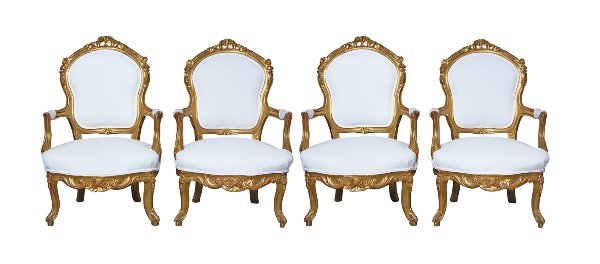 The Isabels: French Gilded Chairs