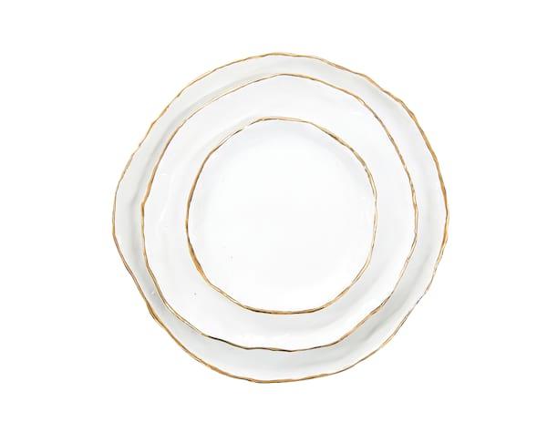 The Bloomington: Handmade Plate Set