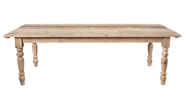 The Natural: Reclaimed Wood Farm Tables
