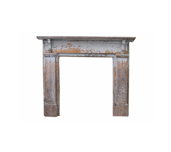 The Wednesday: Antique Wood Mantel