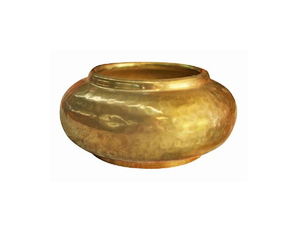 The Ellis: Small Brass Bowl