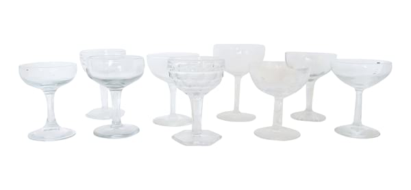 The Carraways: Vintage Champagne Coupes