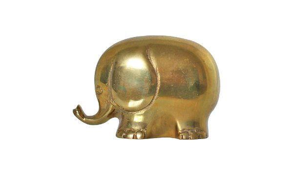 Ellie Brass Elephant