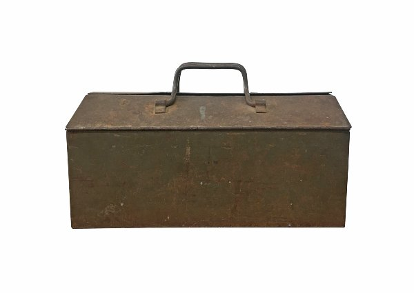 The Ace: Vintage Metal Toolbox