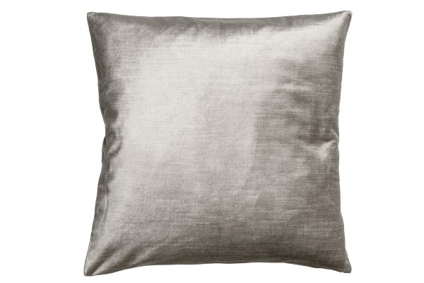 The Rain: Pewter Velvet Pillows