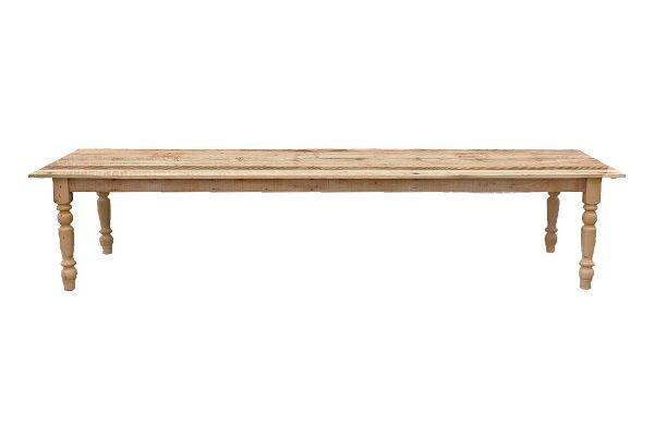 The Arthur: Reclaimed Wood Head Table